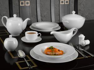 Bộ đồ ăn Camellia trắng 23sp