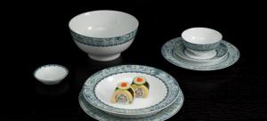 Bộ đồ ăn 10 người 35 sản phẩm - Jasmine - Vinh Quy Nhạt