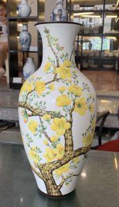Bình hoa 40cm - Hoa Mai Vàng