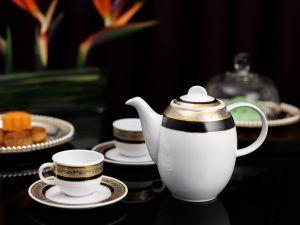 Bộ trà 0.8L - Sago - Hoa Hồng Đen