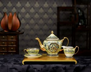 Bộ trà 1.3L - Hoàng Cung - Hoàng Liên
