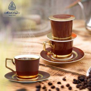 Bộ pha cafe Mầu