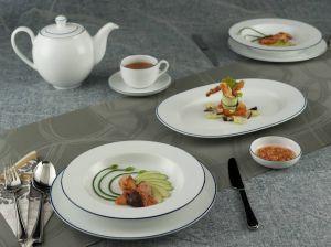 Bộ đồ ăn Chỉ Xanh Dương 23sp