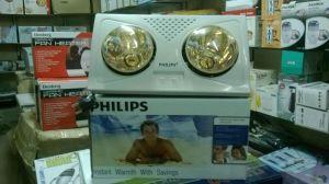 Đèn sưởi Philips 2 bong vang