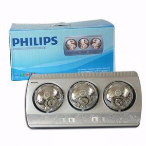 Đèn sưởi Philips 3 bóng vàng