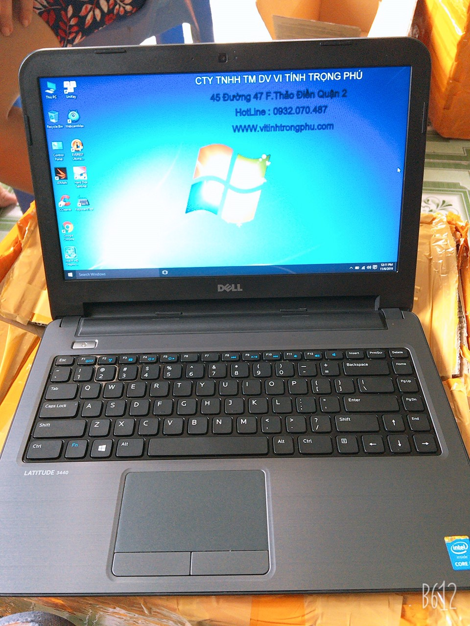 #Laptop #Dell #Latitude_3440 Core I3