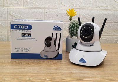 Camera IP Robo Vitacam C780 - 3.0Mpx - 3 anten