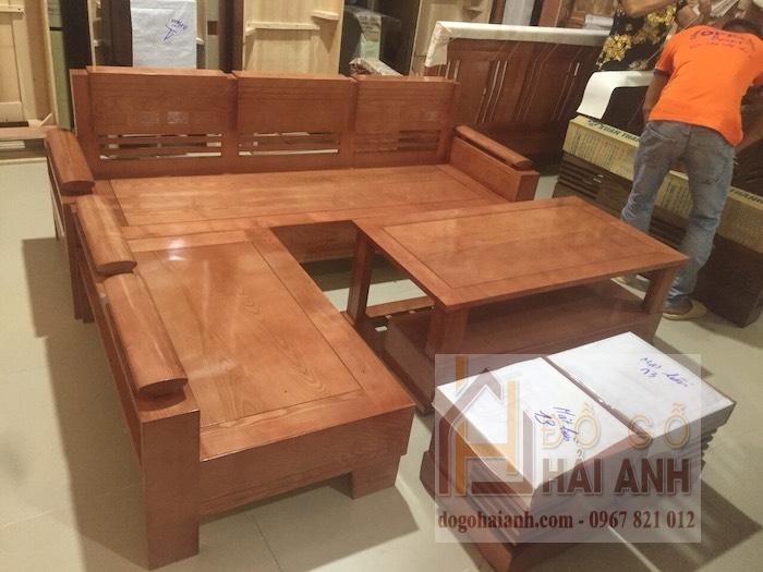 Bàn ghế gỗ phòng khách 7 triệu SG02