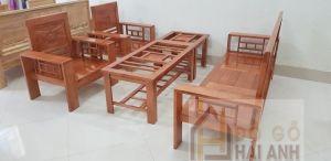 Bộ bàn ghế gỗ 5 triệu
