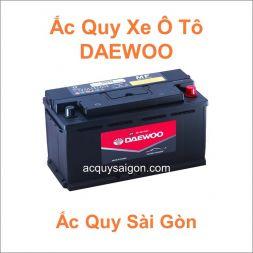 Danh mục ắc quy ô tô Daewoo