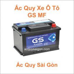 Danh mục ắc quy ô tô GS MF (Khô)