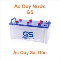 Danh mục ắc quy GS nước