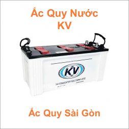 Danh mục ắc quy KV nước
