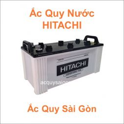 Danh mục ắc quy Hitachi nước