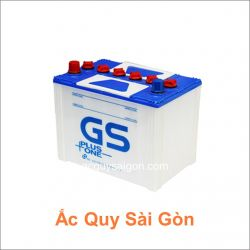 Ắc quy nước GS 12V 65Ah NS70R