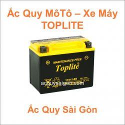 Danh mục ắc quy môtô xe máy Toplite