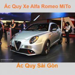 Bình ắc quy xe ô tô Alfa Romeo Mito (2008 - 2018)