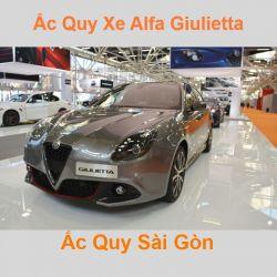 Bình ắc quy xe ô tô Alfa Romeo Giulietta (2010 - 2020)