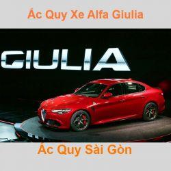 Bình ắc quy xe ô tô Alfa Romeo Giulia (952) (2016 đến nay)