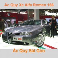 Bình ắc quy xe ô tô Alfa Romeo 166 (1966 - 2007)
