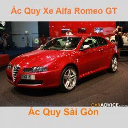 Bình ắc quy xe ô tô Alfa Romeo GT (2003 - 2010)