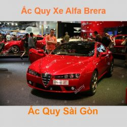 Bình ắc quy xe ô tô Alfa Romeo Brera / Spider (2005 - 2010)