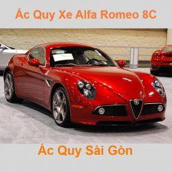 Bình ắc quy xe ô tô Alfa Romeo 8C Competizione / 8C Spider (2007 - 2010)