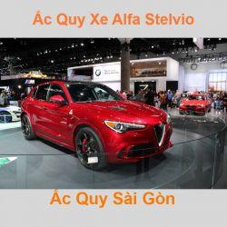 Bình ắc quy xe ô tô Alfa Romeo Stelvio (2017 đến nay)