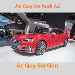 Bình ắc quy xe ô tô Audi A5 / S5 / RS5