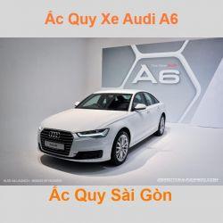 Bình ắc quy xe ô tô Audi A6 / S6 / RS6