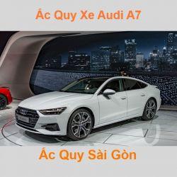 Bình ắc quy xe ô tô Audi A7 / S7 / RS7