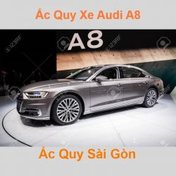 Bình ắc quy xe ô tô Audi A8 / S8