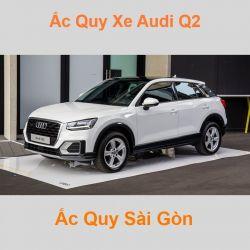 Bình ắc quy xe ô tô Audi Q2