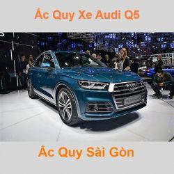 Bình ắc quy xe ô tô Audi Q5