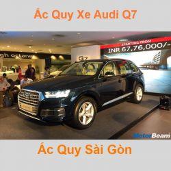 Bình ắc quy xe ô tô Audi Q7