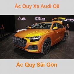 Bình ắc quy xe ô tô Audi Q8