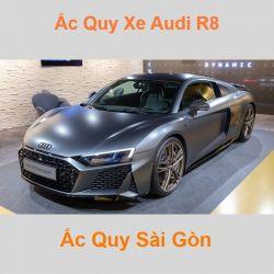 Bình ắc quy xe ô tô Audi R8