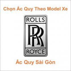 Ắc Quy Cho Hãng Xe ROLLS-ROYCE