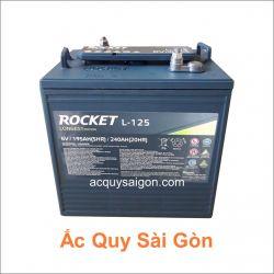 Ắc quy xe điện Rocket 6V 240Ah L-125