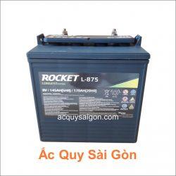 Ắc quy xe điện Rocket 8V 170Ah L-875