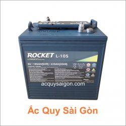 Ắc quy xe điện Rocket 6V 225Ah L-105