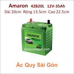 Ắc quy Amaron 12V 35Ah 42B20L (NS40ZL)