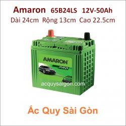 Ắc quy Amaron 12V 50Ah 65B24LS (N55LS)
