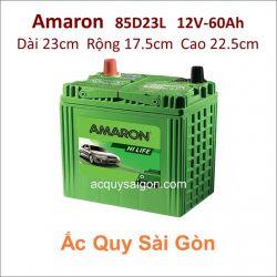 Ắc quy Amaron 12V 60Ah 85D23L
