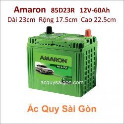 Ắc quy Amaron 12V 60Ah 85D23R