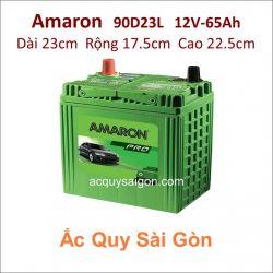 Ắc quy Amaron 12V 65Ah 90D23L