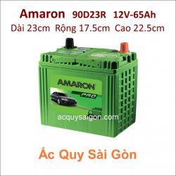 Ắc quy Amaron 12V 65Ah 90D23R