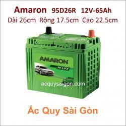 Ắc quy Amaron 12V 65Ah 95D26R (NX110-5R)