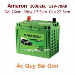 Ắc quy Amaron 12V 70Ah 100D26L (S95L)