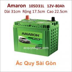 Ắc quy Amaron 12V 80Ah 105D31L (NX120-7L)
